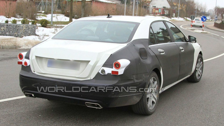 2013 Mercedes S-Class Mule First Spy Photos