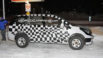 Tata Safari Prototype Spy Photo