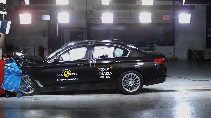 New BMW 5 Series scores 5 stars in latest Euro NCAP tests