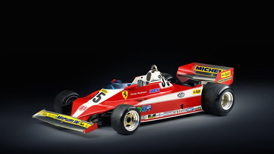 Un Ferrari 312 T3 de 1978, a la venta en una casa de subastas