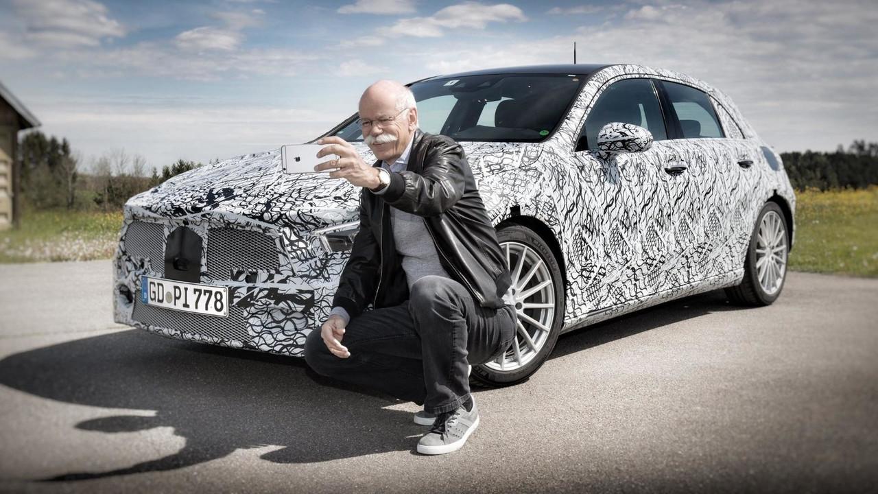 Novo Mercedes Classe A 2019 - teaser