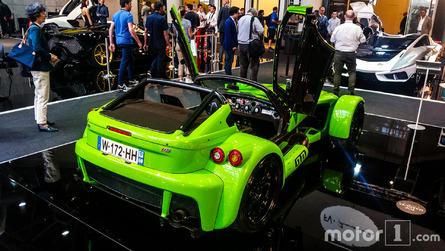 La Donkervoort D8 GTO-RS fait le show au salon Top Marques
