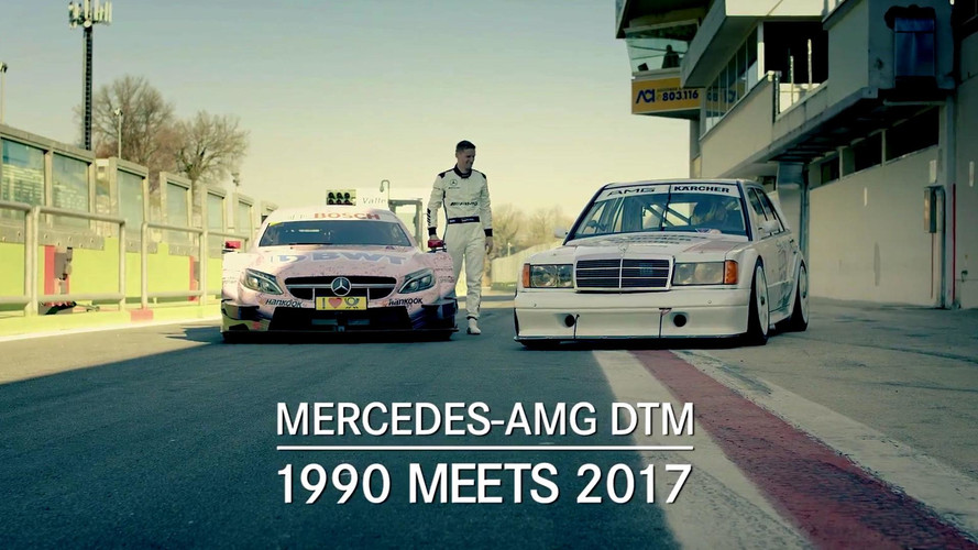 Mercedes-Benz 190E And C63 DTM Race