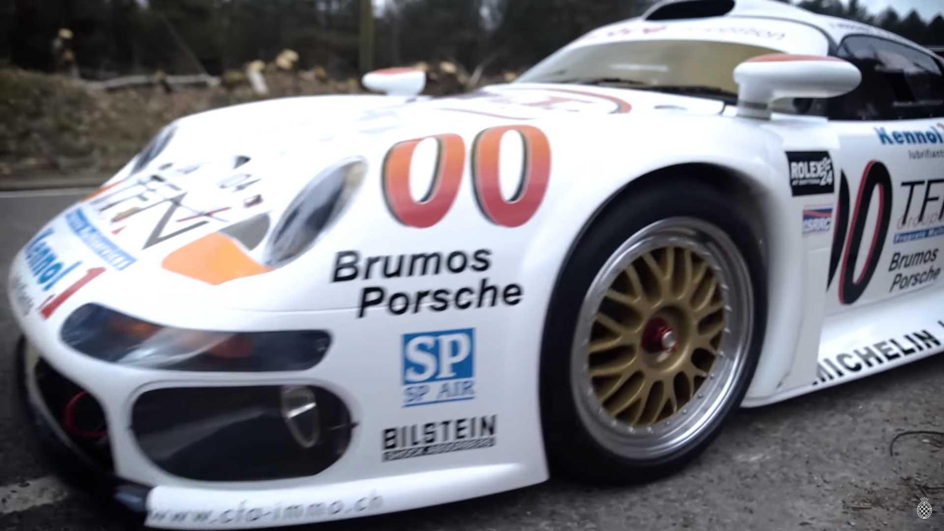 street-legal-porsche-911-gt1 Terrific Porsche 911 Gt1 98 Road Car Cars Trend