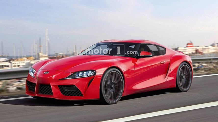 Toyota Supra rendered ahead of Goodwood debut