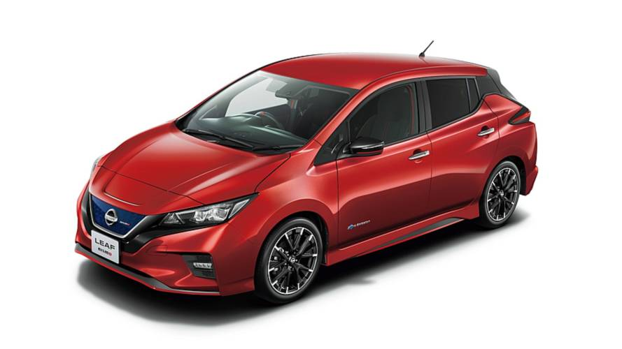 Nissan Leaf Nismo Debuts In Production Guise