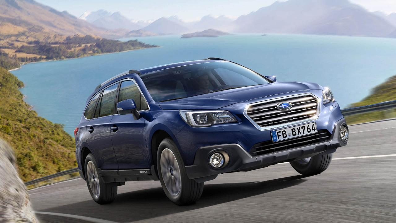 Platz 2: Subaru Outback (1.848 Liter)
