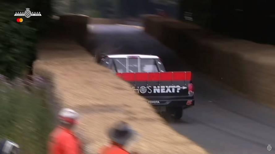 Les crashs et frayeurs du Festival of Speed de Goodwood 2018