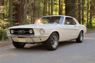 Forget the Fastback, This 1967 Mustang GT 'Notchback' is For the Working Man