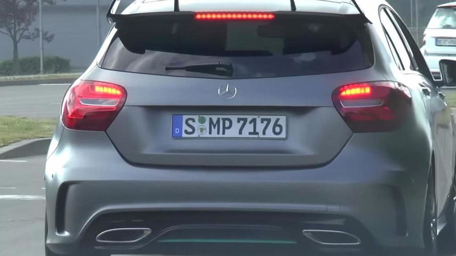 Mercedes-Benz A-Class Motorsport Edition spotted in the metal for the first time [video]
