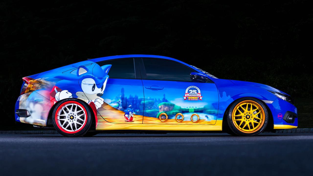 Honda Civic 2016 Sonic Edition