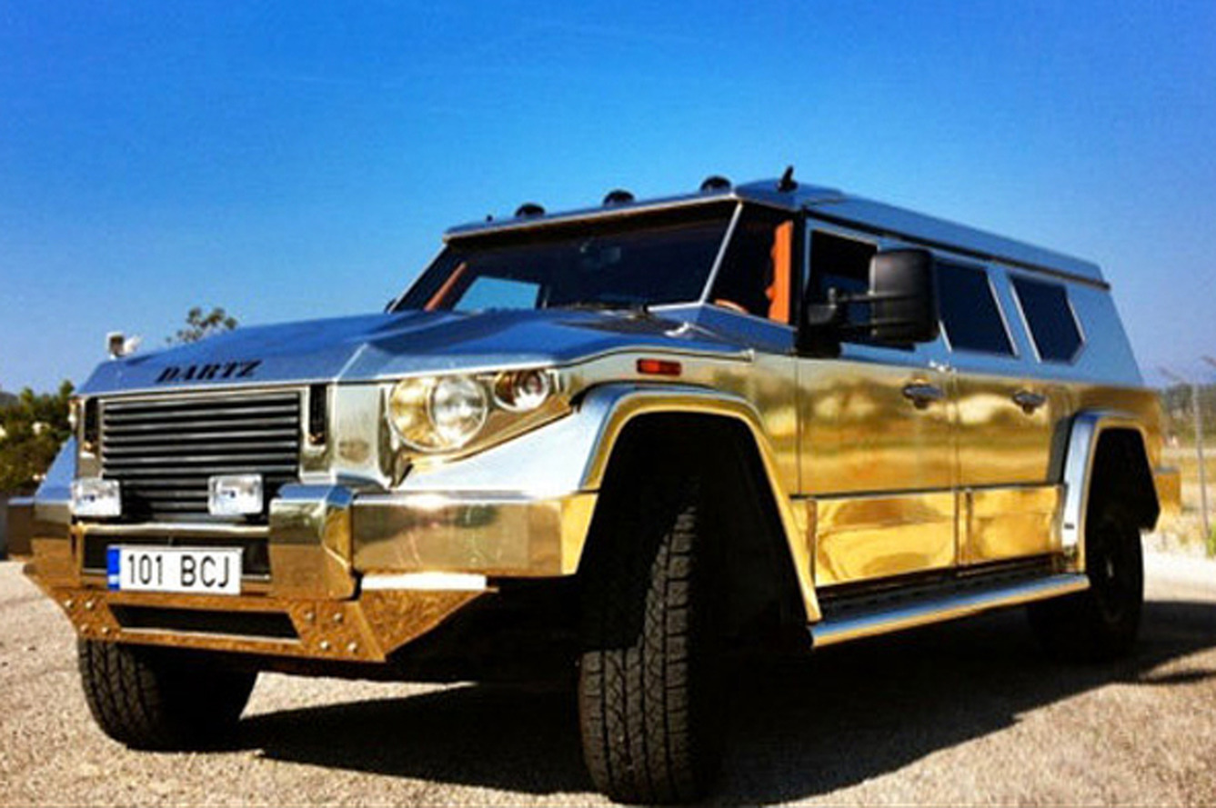 Fit for a Dictator: Armored SUV Hits the Market