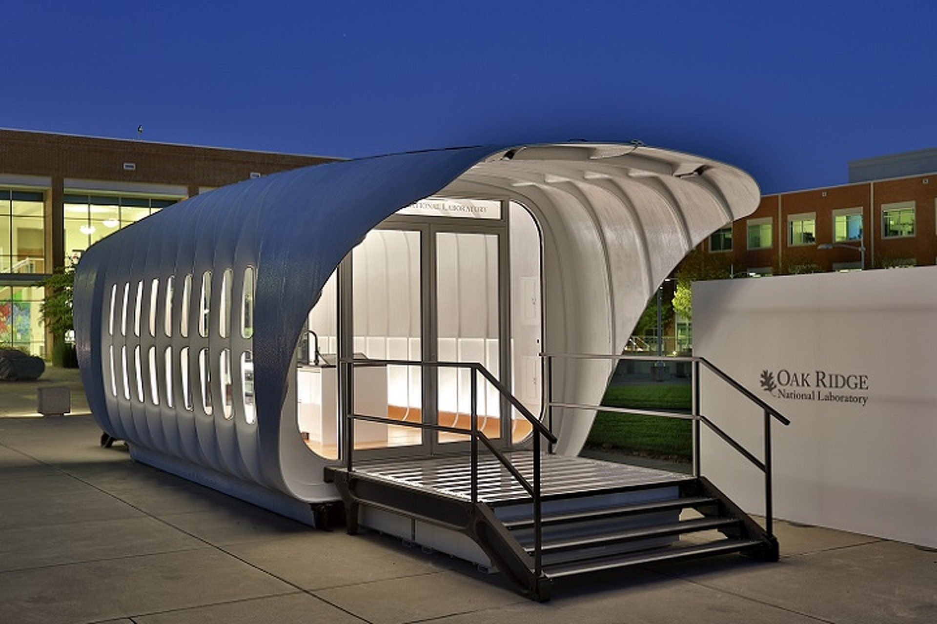 AMIE Aims To Be First 3D Printed Interconnected House and Car