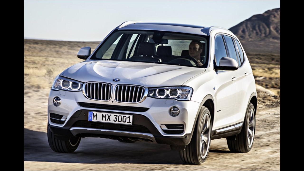 Platz 9: BMW X3