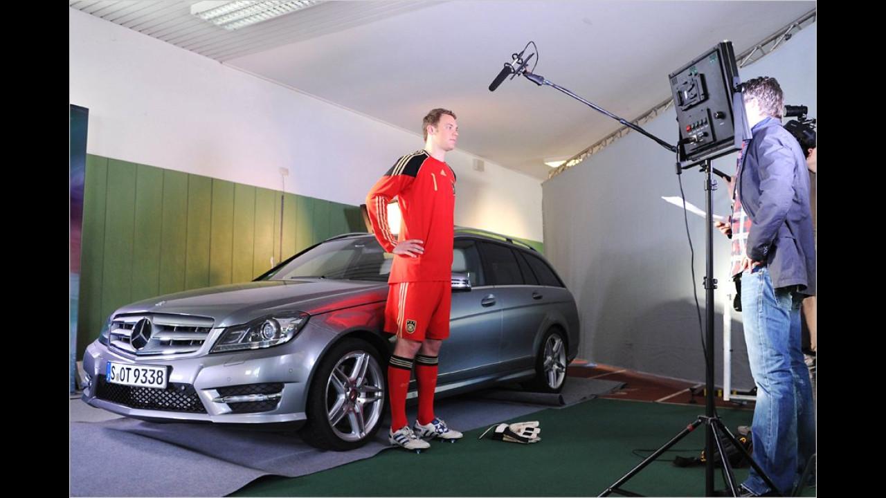 Manuel Neuer: Mercedes C-Klasse
