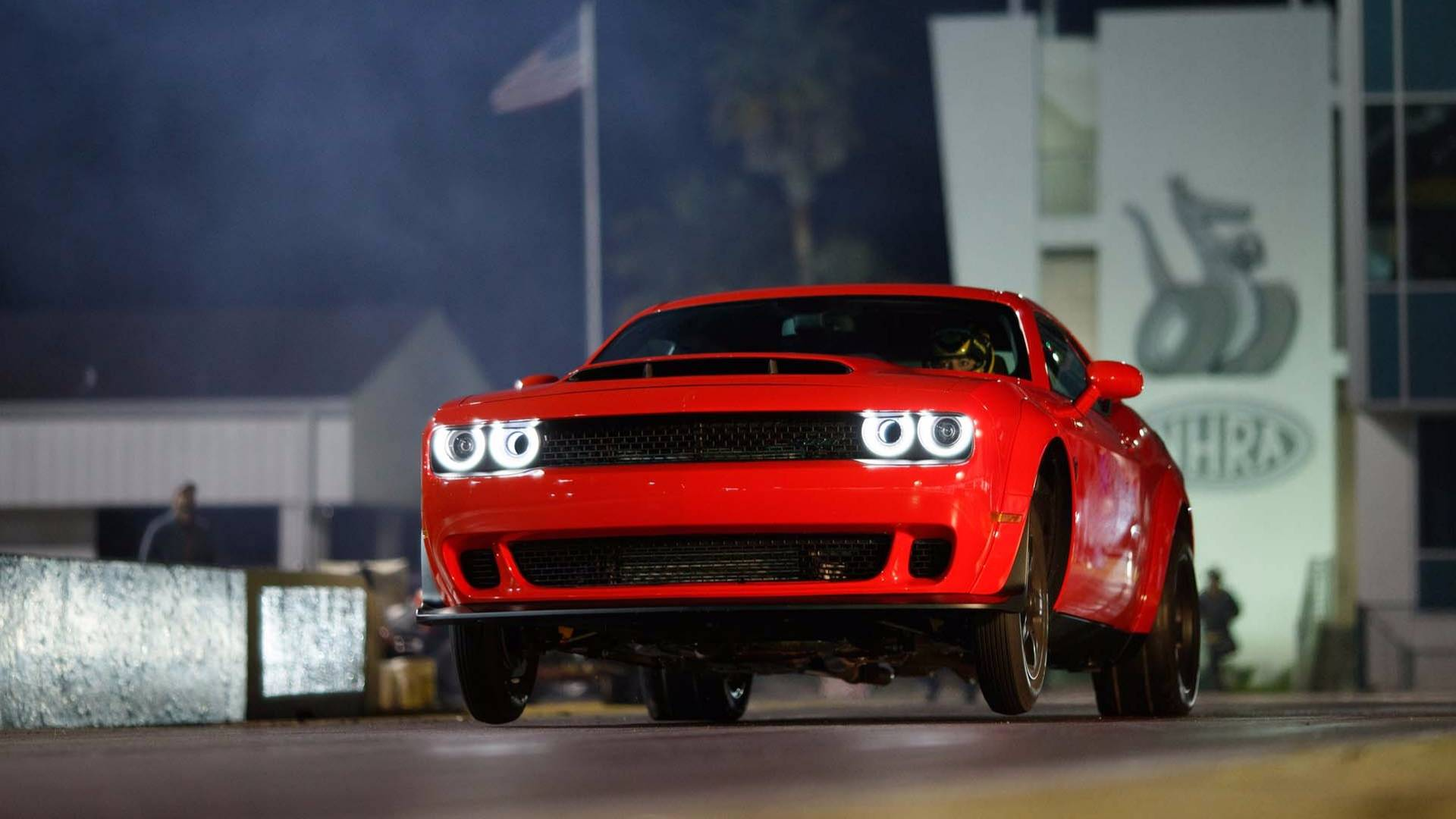 Watch Hennessey Take The Dodge Challenger Demon To Its Top Sd