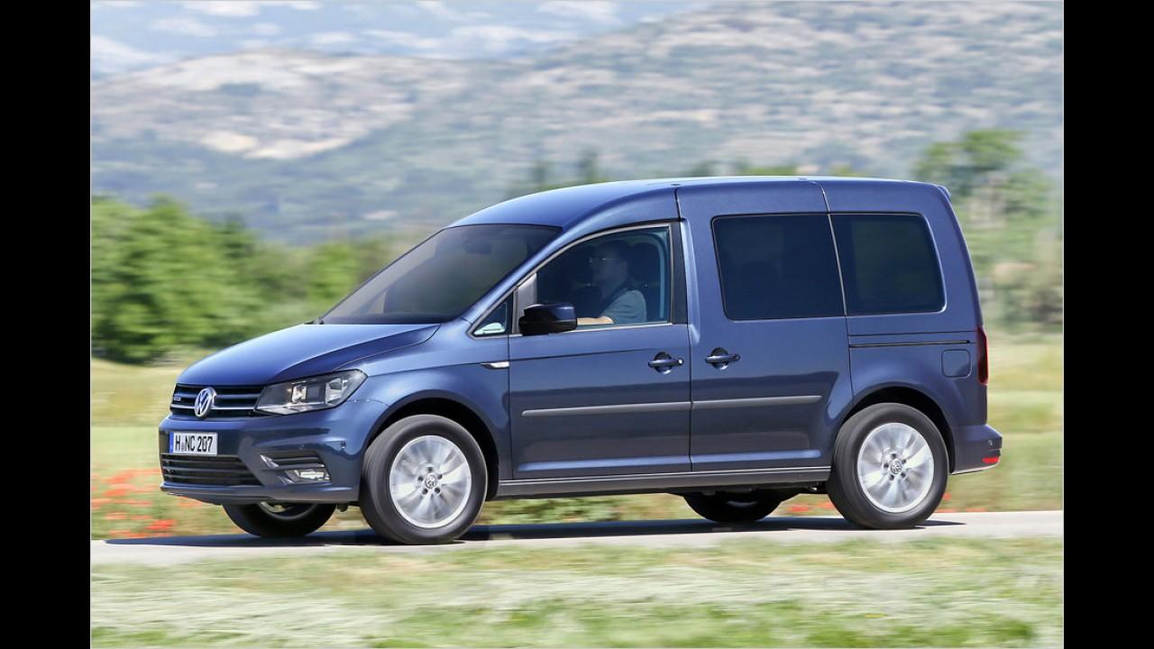 VW Caddy 1.4 TGI (ab 23.776 Euro)