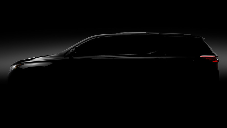 2018 Chevy Traverse Teaser