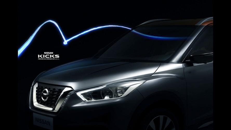 Nissan mostra mais do Kicks e confirma importação do México no lançamento