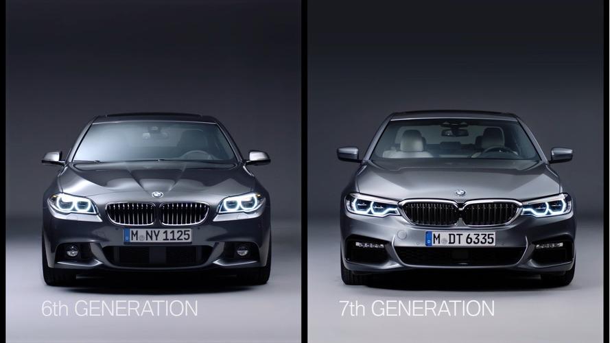 VIDÉO - Les BMW Série 5 G30 et F10 comparées !