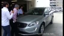 Vexame: Volvo XC60 atropela pedestres durante simulação anti-colisão - vídeo