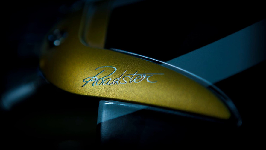 Pagani Huayra Roadster teaser reveals… something