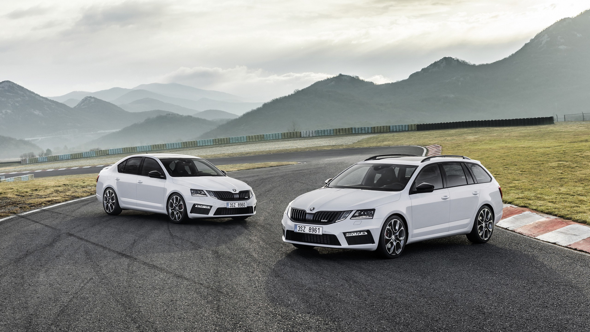 2017 Skoda Octavia RS facelift makes video debut product 2017-01-18 05:40:49