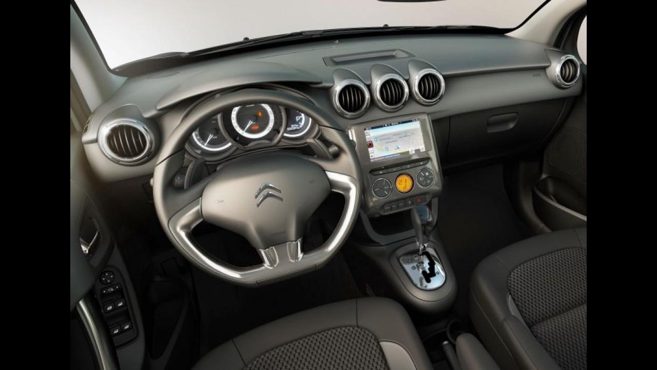 """Citroën C3 2017 ganha central com tela de 7"""" e novos itens - veja preços"""