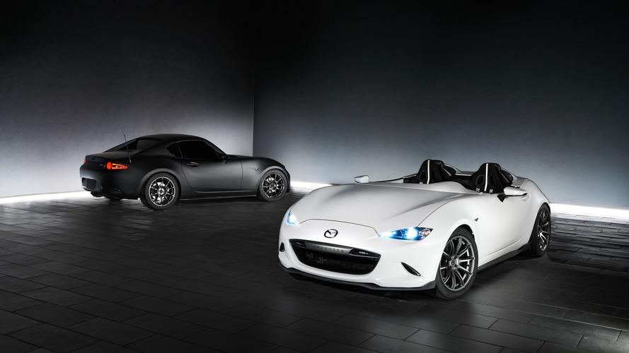 Mazda'nın SEMA için hazırladığı MX-5'ler görücüye çıktı