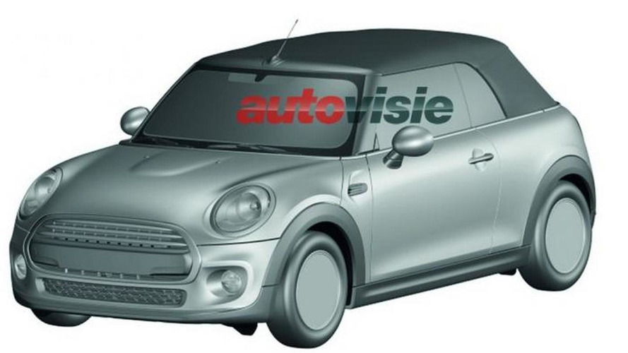 2016 MINI Convertible fully revealed in patent drawings