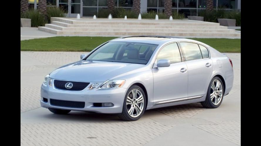 Lexus GS 450h: Hybridantrieb für japanische Luxusklasse