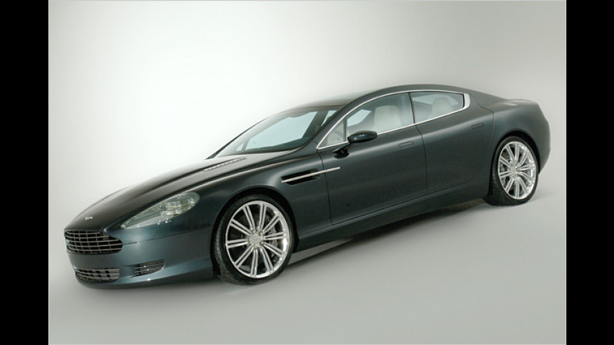 Flotter Vierer: Konzeptstudie Aston Martin Rapide