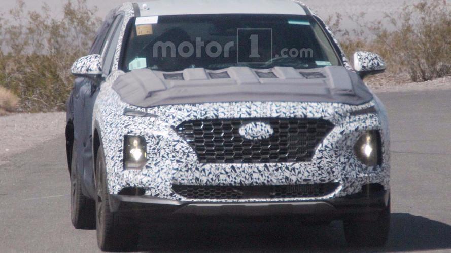 Next Hyundai Santa Fe Spied Revealing Kona-Like Face
