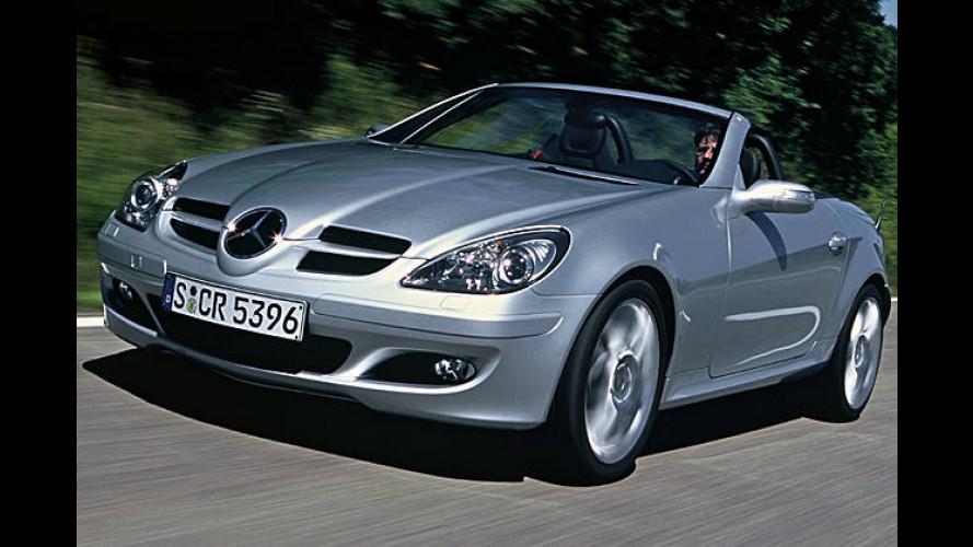 Schneller im Mercedes SLK: Sportpaket für den Roadster