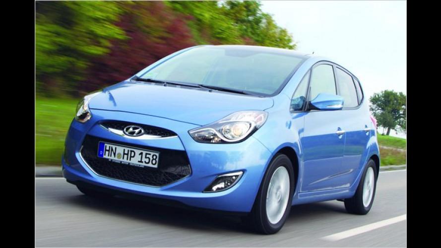 Kleines X: Hyundai ix20 geht an den Start