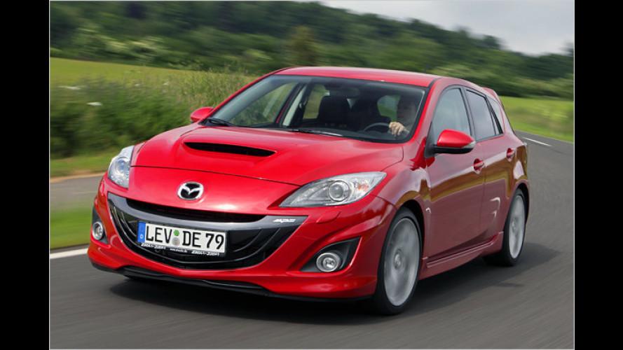 Kompakt-Sportler mit 260 PS: Mazda 3 MPS im Test