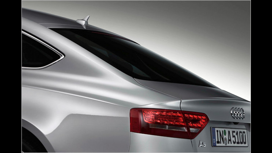 Schöner laden: Audi zeigt den A5 Sportback