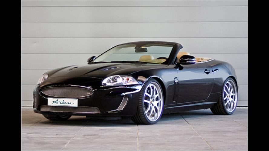 Mehr Krallen für die Raubkatze: Arden Jaguar XKR Cabriolet