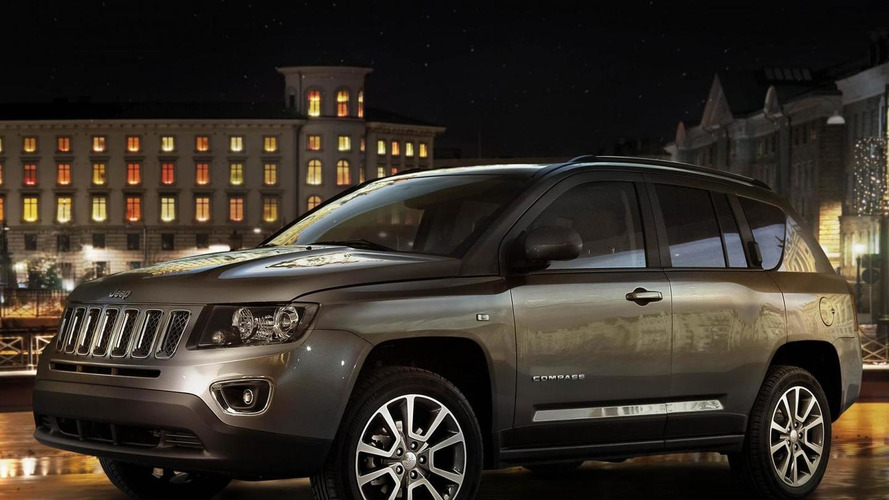 2014 Euro-spec Jeep Compass heading to Geneva