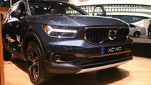 2019 Volvo XC40 at the 2018 New York Auto Show