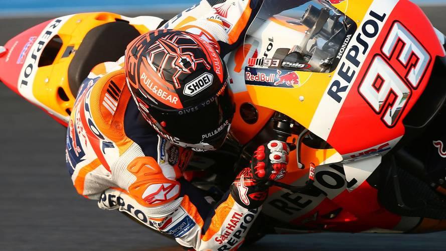 Márquez y Pedrosa marcan el ritmo el segundo día de MotoGP en Buriram