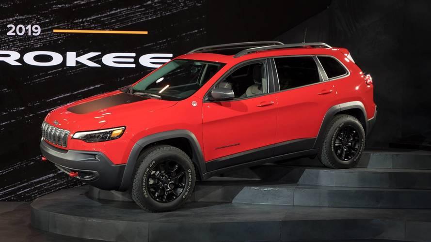 PHOTOS - Le Jeep Cherokee restylé en détails