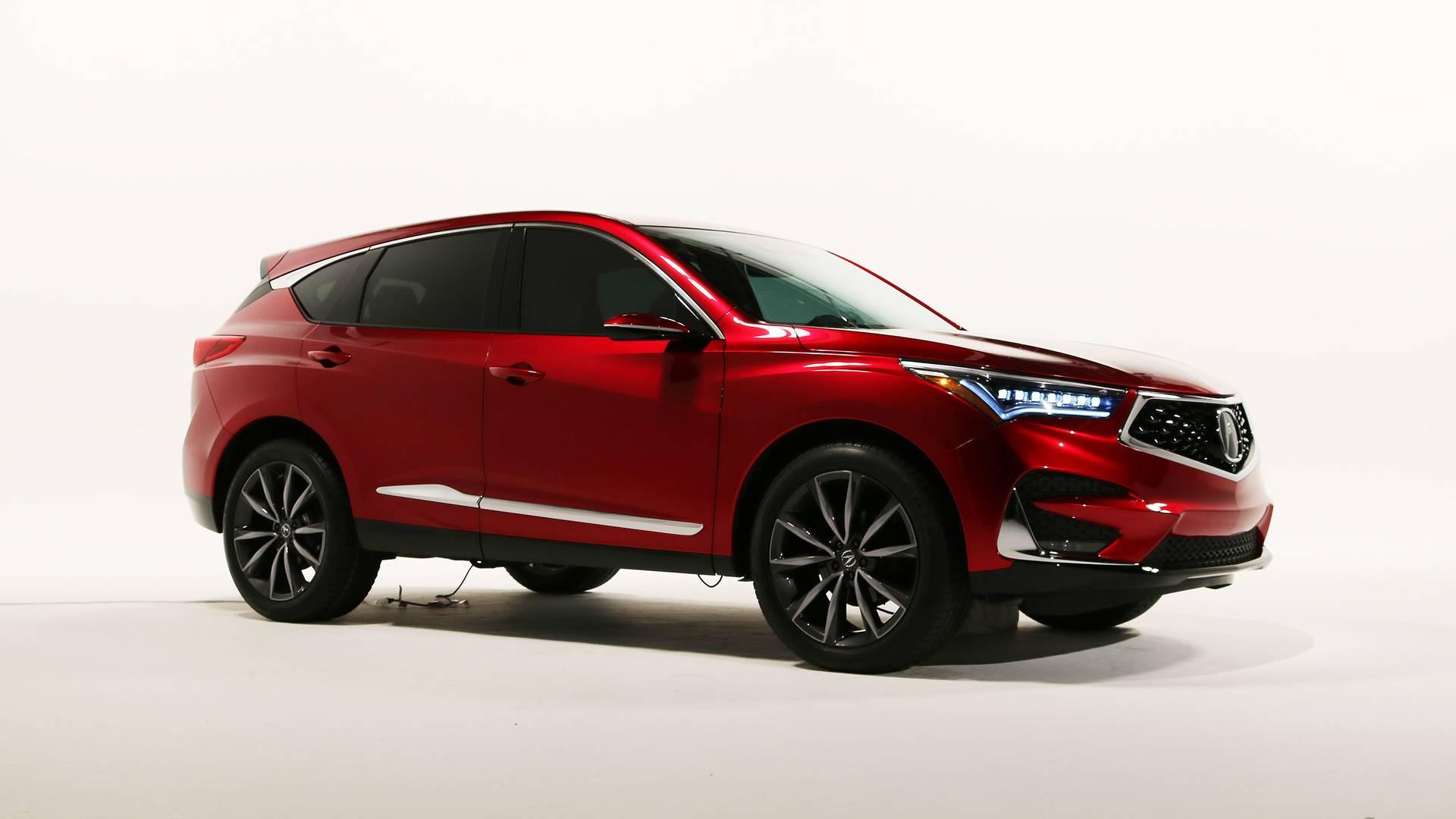 VWVortex.com - 2019 Acura RDX Prototype Packs More Power ...