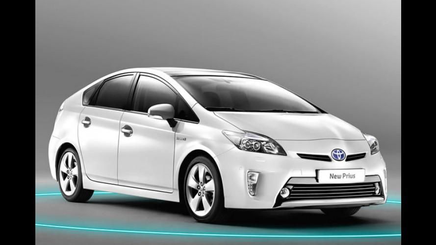 Híbrido: Toyota Prius 2012 chega à Argentina