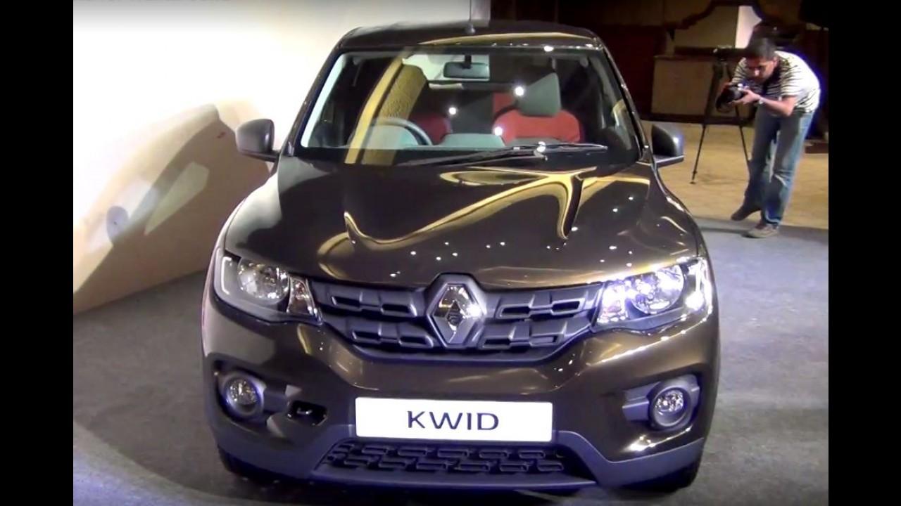 Veja mais detalhes do Renault Kwid durante a apresentação - vídeo
