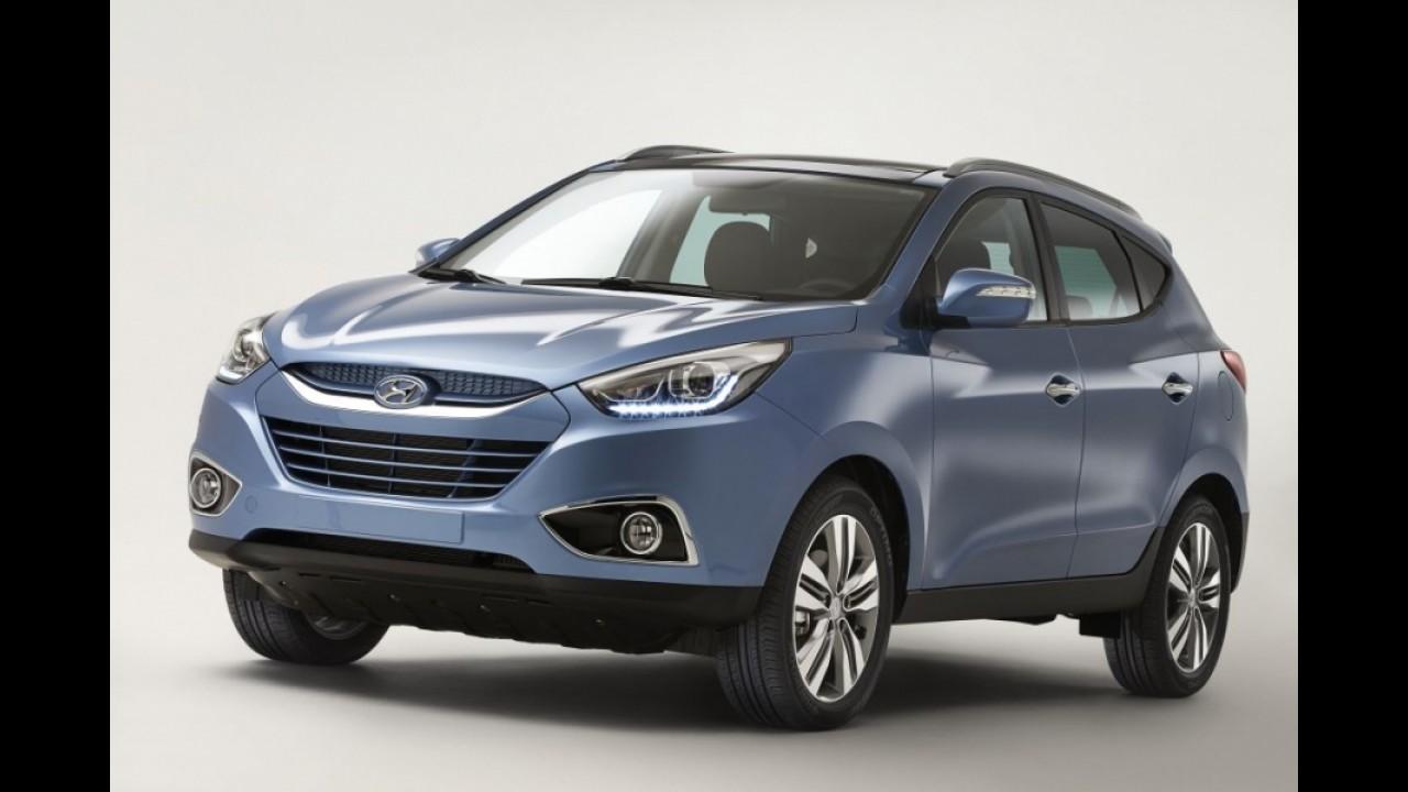 Hyundai ix35 reestilizado será apresentado no Salão de Genebra