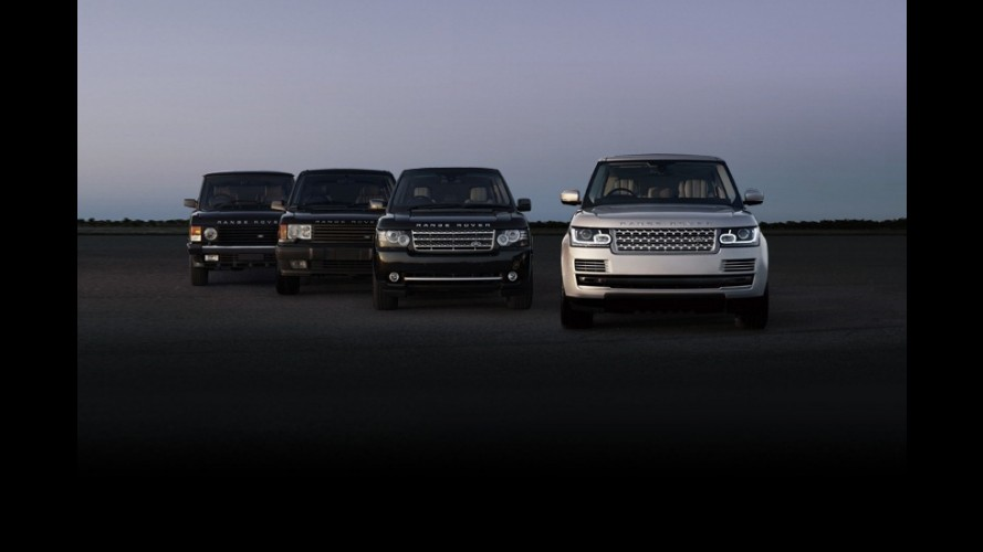 Range Rover 2013 é apresentado oficialmente - Veja detalhes técnicos e novas imagens