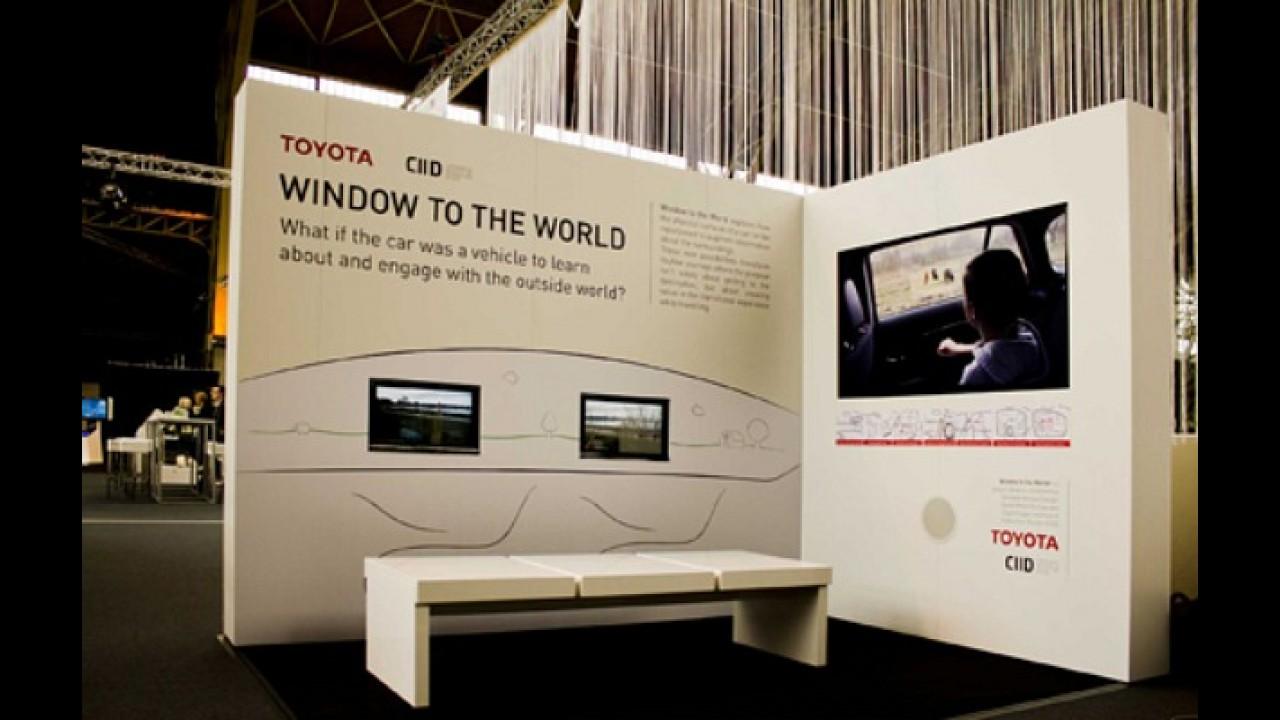 Tecnologia do futuro: Toyota desenvolve tela interativa com o ambiente