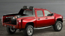 Dale Earnhardt Jr.'s Big Red Silverado at Sema