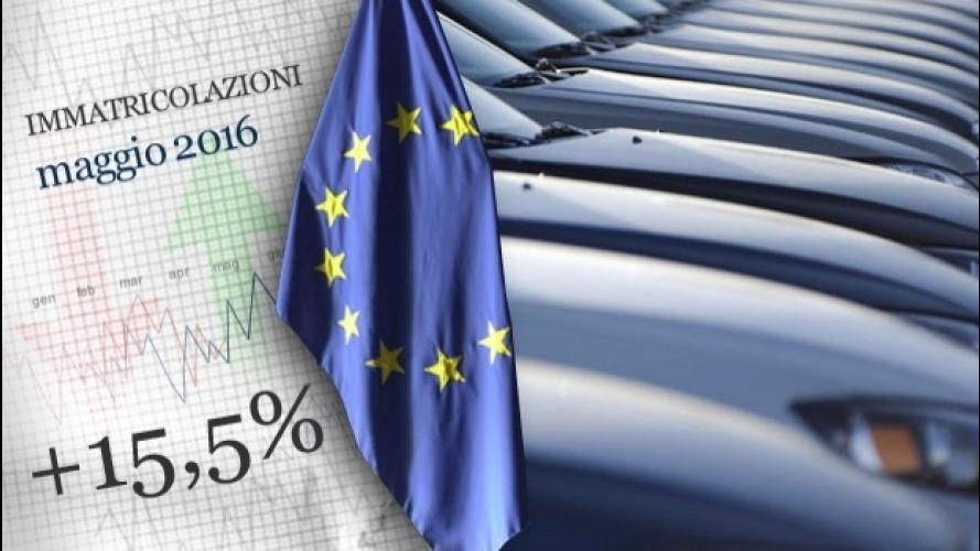 Mercato auto, l'Europa continua ad accelerare